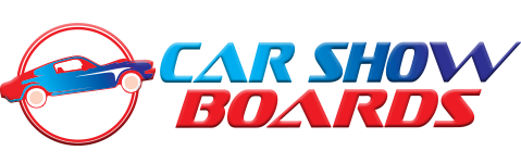 Car Show Boards