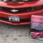 Camaro Car Show Board