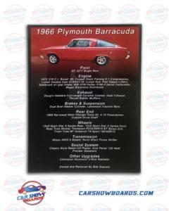 Barracuda Show Board