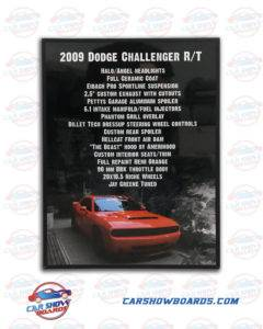 Challenger Show Board