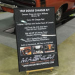 Charger Car Show Board