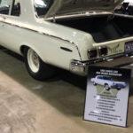 Dodge 330 Car Show Board