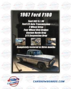 F100 Show Board
