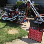 Harley Chopper Car Show Board