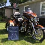 Harley Trike Car Show Board