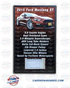 Mustang GTShow Board