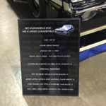 Olds Car Show Board