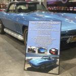 Stingray Car Show Board