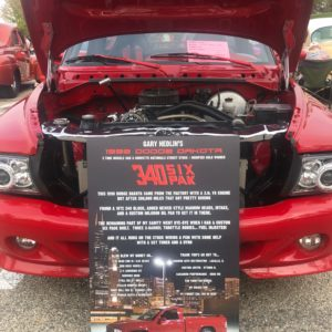 Aluminum Car Show Board
